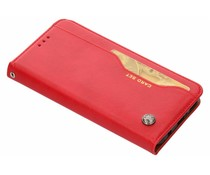 Kartensatz Buchtyp Abdeckung Rot für das Huawei Mate 20 Lite