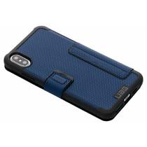 UAG Metropolis Folio Case Blau für das iPhone Xs Max