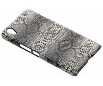 Schlangen-Design Hardcase-Hülle Schwarz für das OnePlus X