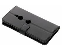 TPU Bookcase Schwarz für Sony Xperia XZ3