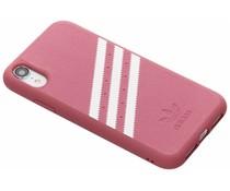 adidas Originals OR Moulded Suède Case Rosa für das iPhone Xr