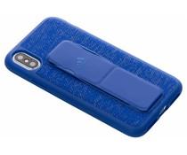 adidas Sports Grip Case Blau für das iPhone Xs / X