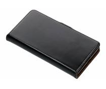 Selencia Luxus Bookcase Schwarz für das Microsoft Lumia 950