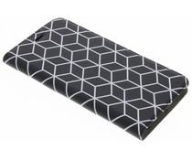 Cubes Black Booklet für das Huawei P10 Plus