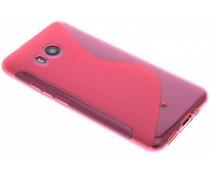 S-Line TPU Hülle Rosa für das HTC U11