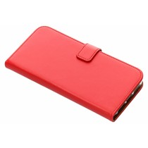 Luxus TPU Book Case Rot für das iPhone Xs Max