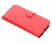 Selencia Luxus TPU Book Case Rot für das Huawei Nova 3