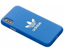 adidas Originals Basics Moulded Cover Blau für das iPhone Xs / X