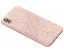 adidas Originals Moulded Snake Case Rosa für das iPhone Xs Max