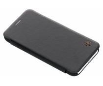 Nillkin Qin Leather Slim Booktype Hülle Schwarz für das iPhone Xr
