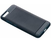 Brushed TPU Case Dunkelblau für das Xiaomi Mi 6