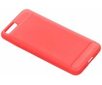 Brushed TPU Case Rot für das Xiaomi Mi 6