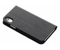 Black Rock Flex Carbon Booklet Case Schwarz für das iPhone Xr