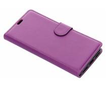 Litchi Buchtyp-Hülle Violett für das Xiaomi Pocophone F1