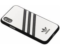 adidas Originals Moulded Case Samba Weiß für das iPhone Xs / X