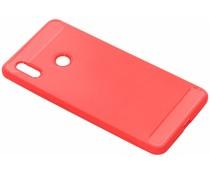 Brushed TPU Case Rot für das Honor Note 10