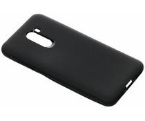 Rugged Silikon Case Schwarz für das Xiaomi Pocophone F1