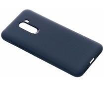 Rugged Silikon Case Blau für das Xiaomi Pocophone F1