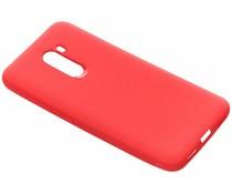 Rugged Silikon Case Rot für das Xiaomi Pocophone F1