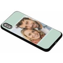 Bedrukken Gestalten Sie Ihre eigene iPhone Xs Max Gel Hülle - Schwarz