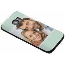 Gestalten Sie Ihre eigene Galaxy S7 Edge Gel Hülle - Schwarz