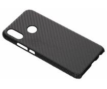 Carbon Look Hardcase-Hülle Schwarz für Huawei P Smart Plus