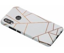Selencia White Graphic Passion Hard Case für das Huawei P20 Lite