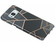 Selencia Black Graphic Passion Hard Case für das Samsung Galaxy S8