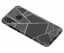 Selencia Black Graphic Passion Hard Case für das Huawei P20 Lite