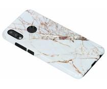 Selencia White Marble Passion Hard Case für das Huawei P20 Lite