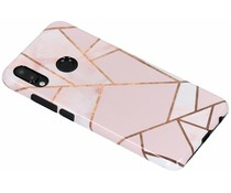 Selencia Pink Graphic Passion Hard Case für das Huawei P20 Lite