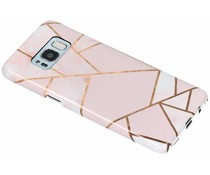 Selencia Pink Graphic Passion Hard Case für das Samsung Galaxy S8