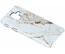 Selencia White Marble Passion Hard Case für Samsung Galaxy A6 (2018)