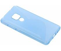 S-Line TPU Hülle Blau für das Huawei Mate 20