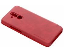 Nillkin Qin Leather Slim Booktype Hülle Rot für Huawei Mate 20 Lite