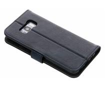 Leder Booktype Hülle Schwarz für das Samsung Galaxy S8