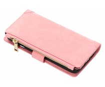 Luxuriöse Portemonnaie-Hülle Rosa für das iPhone Xs Max