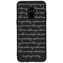 Winter-Design Silikonhülle für das Samsung Galaxy A8 (2018)