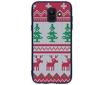 Winter-Design Silikonhülle für das Samsung Galaxy A6 (2018)