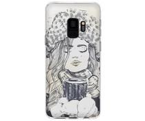 Winter-Design Silikonhülle für das Samsung Galaxy S9