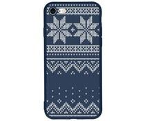 Winter-Design Silikonhülle für das iPhone 8 / 7