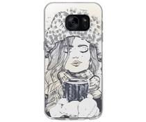 Winter-Design Silikonhülle für das Samsung Galaxy S7