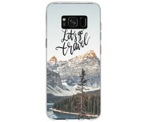 Winter-Design Silikonhülle für das Samsung Galaxy S8