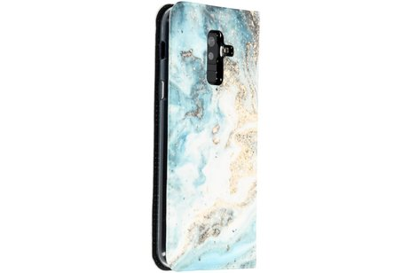 Design Tpu Bookcase Fur Das Samsung Galaxy A6 Plus 2018