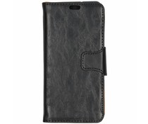 Split Leather Booktype Schwarz Sony Xperia XZ3