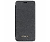 Guess Back Foliocase Schwarz-transparant für das iPhone Xs Max