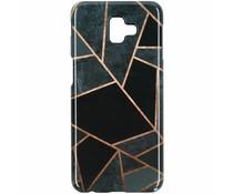 Black Graphic Passion Hard Case Samsung Galaxy J6 Plus