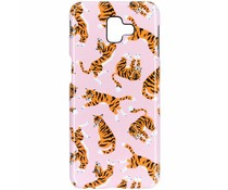 Tiger Passion Hard Case Samsung Galaxy J6 Plus