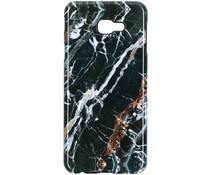 Black Marble Passion Hard Case Samsung Galaxy J4 Plus