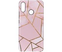 Selencia Pink Graphic Passion Hard Case für das Huawei P Smart Plus